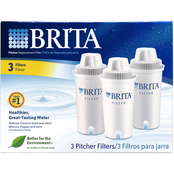 Brita Pitcher Replacement Filters 3 pk.