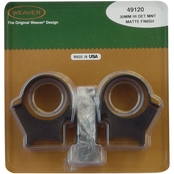 Weaver Top Mount 30mm High Rings