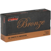 PMC Bronze .40 S&W 165 Gr. FMJ, 50 Rounds