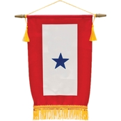 Sayre Service Flag, 1 Blue Star