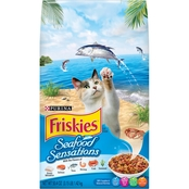 Friskies Seafood Sensations Adult Dry Cat Food