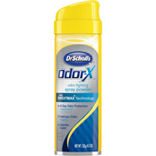 Dr Scholl's Odor X Odor Fighting Spray Powder, 4.7 oz.
