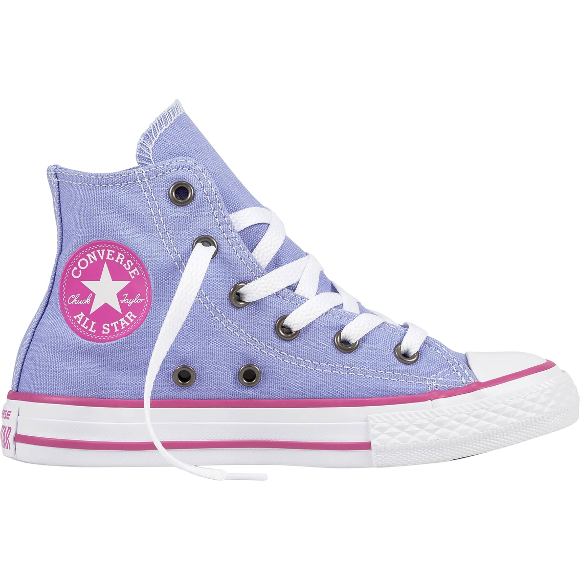 Converse Preschool Girls Chuck Taylor All Star High Top Sneakers ... 6ecf2ec03