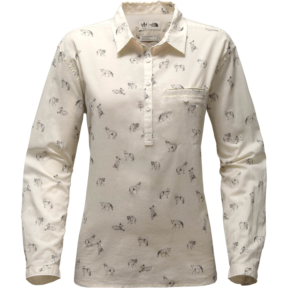 f4aac0adc The North Face Barilles Pullover Shirt   Casual Shirts   Apparel ...