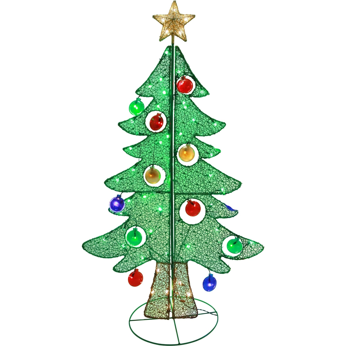Costco Online Christmas Trees: Puleo 60 In. Christmas Tree With Lights And Ornaments