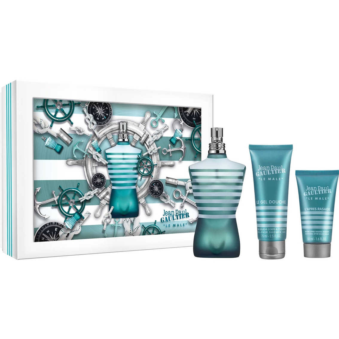 jean paul gaultier mens le male gift set gifts sets for him beauty health shop the exchange. Black Bedroom Furniture Sets. Home Design Ideas