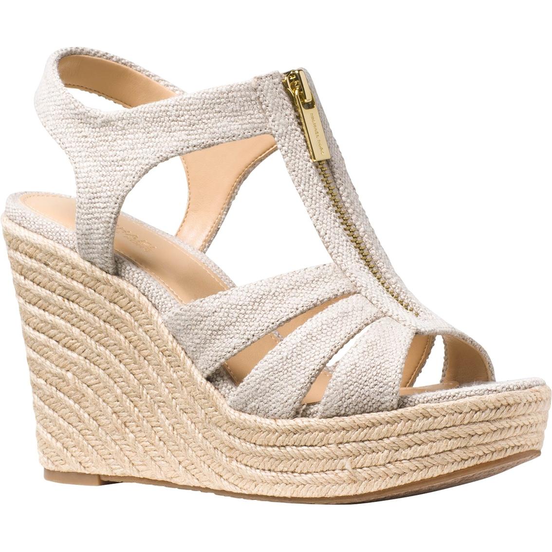 9a58fd9b8aea Michael Kors Berkley Wedge Sandals