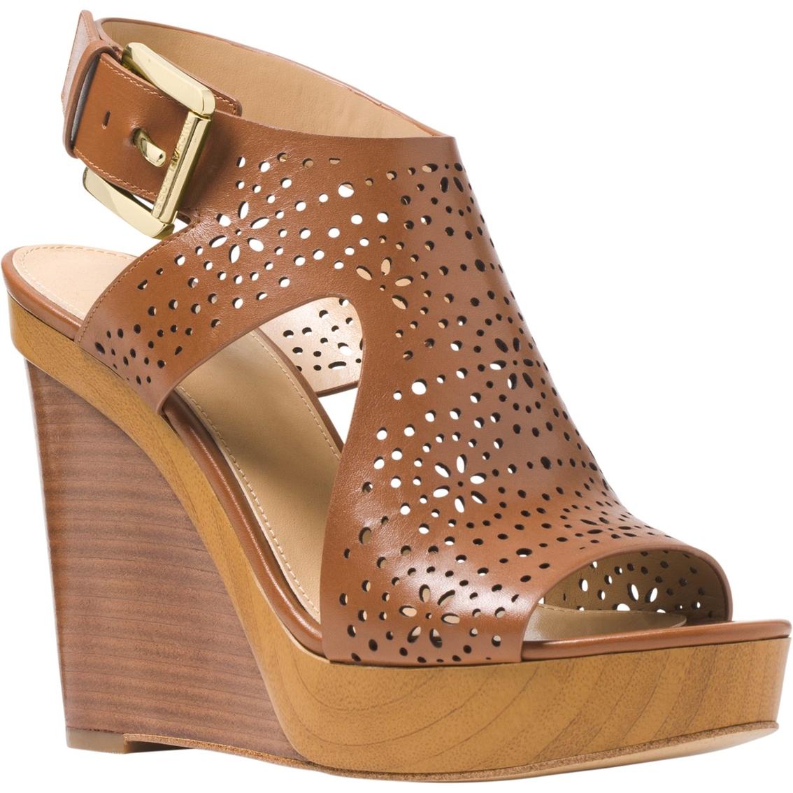 1e1ca8f54104 Michael Kors Josephine Wedge Sandals