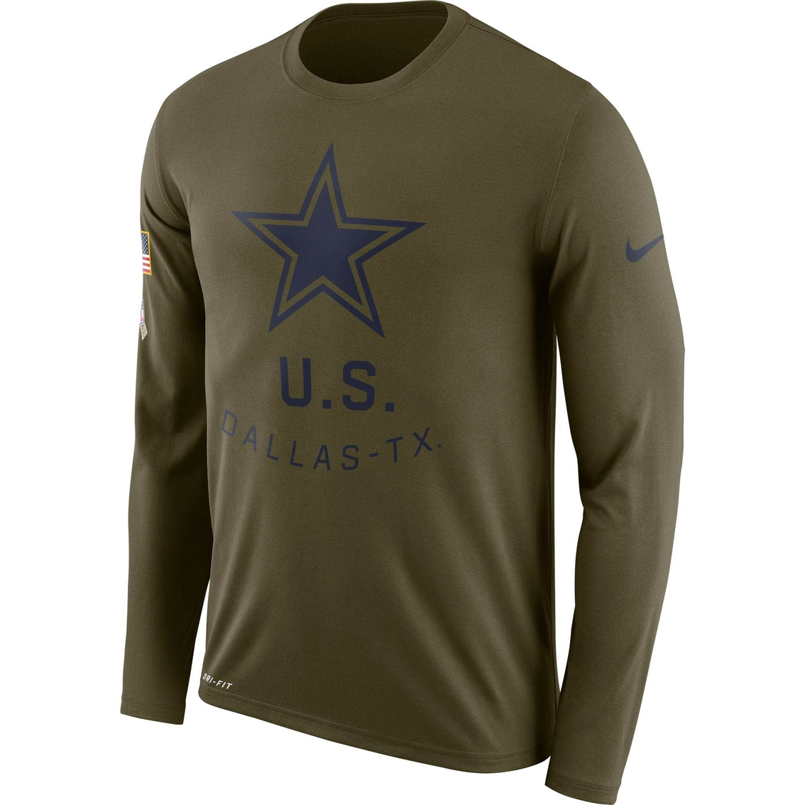 a0108d365 Nike Salute To Service Nfl Dallas Cowboys Legend Tee