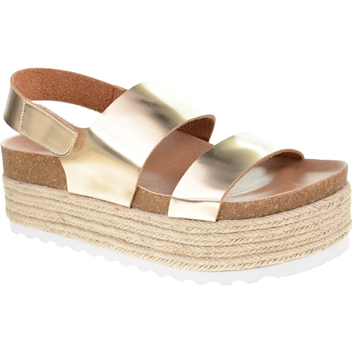 2f629b409b52 Dirty Laundry Peyton Footbed Wedge Sandals