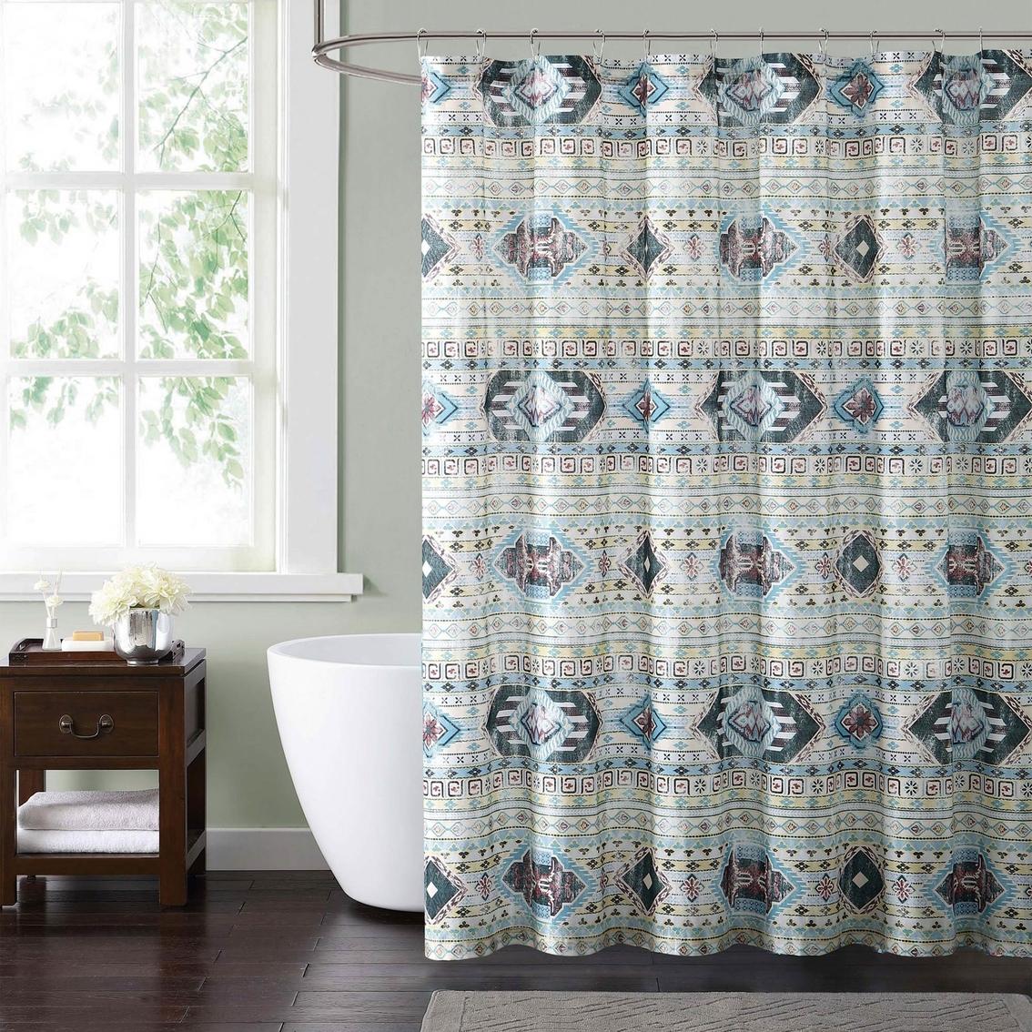 Simone Tribal Shower Curtain