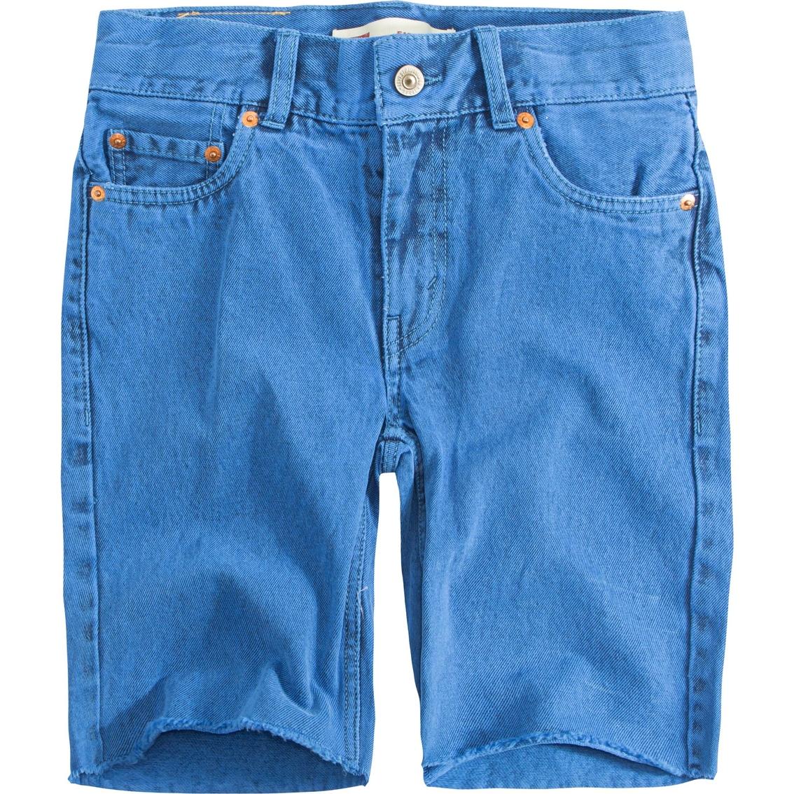 443b038415 Levi's Little Boys 511 Slim Fit Overdyed Shorts   Boys 4-7x ...