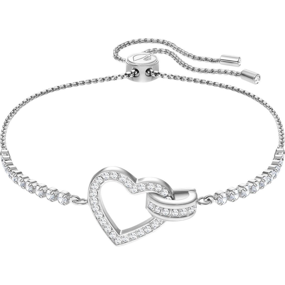 Swarovski Lovely Rhodium Bracelet   Crystal Jewelry   Jewelry ... 80ec405bdcd7