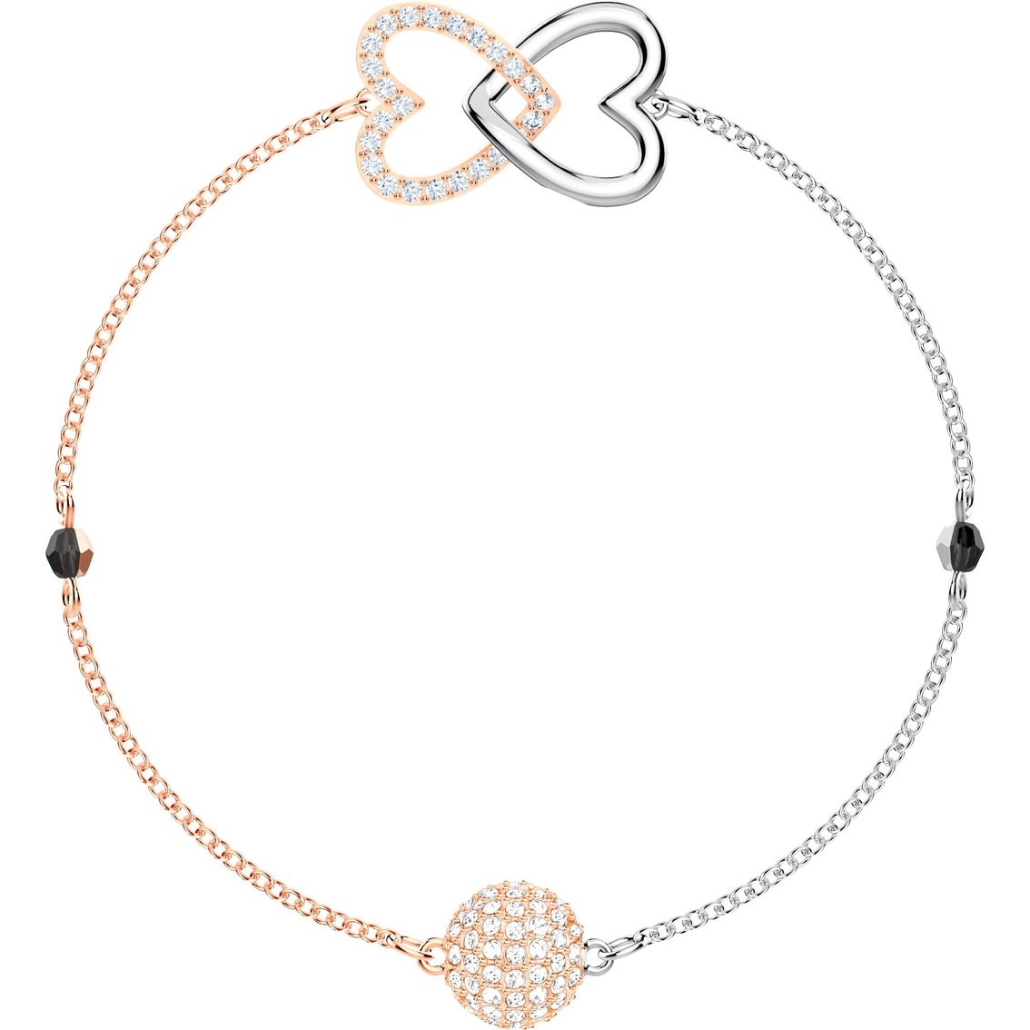 e5c9f50b9f38 Swarovski Remix Collection Mixed Metal Forever Strands