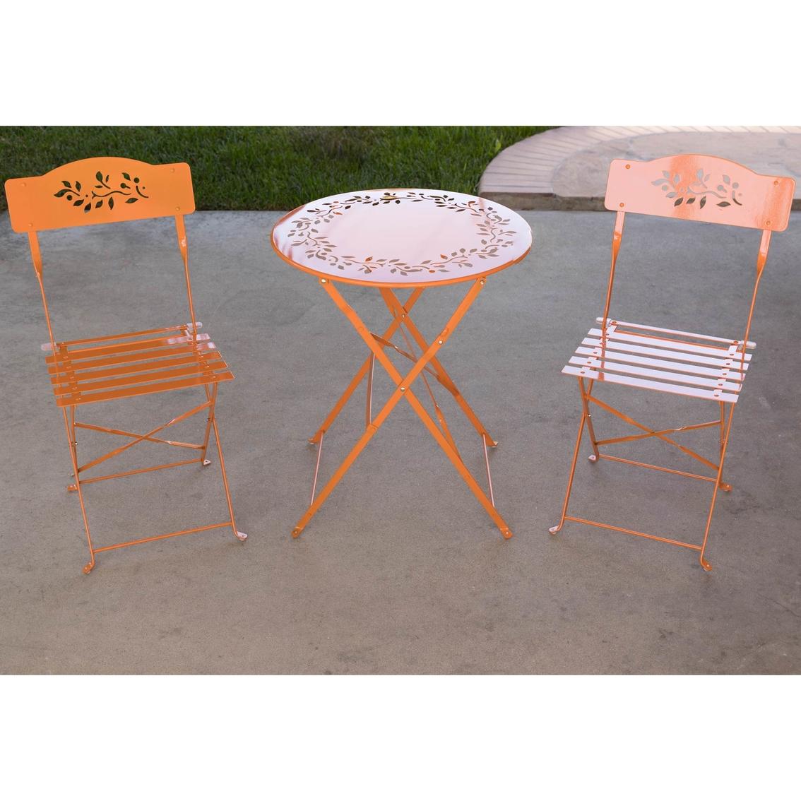 Astounding Alpine Outdoor 3 Pc Bistro Set Patio Sets More Shop Spiritservingveterans Wood Chair Design Ideas Spiritservingveteransorg