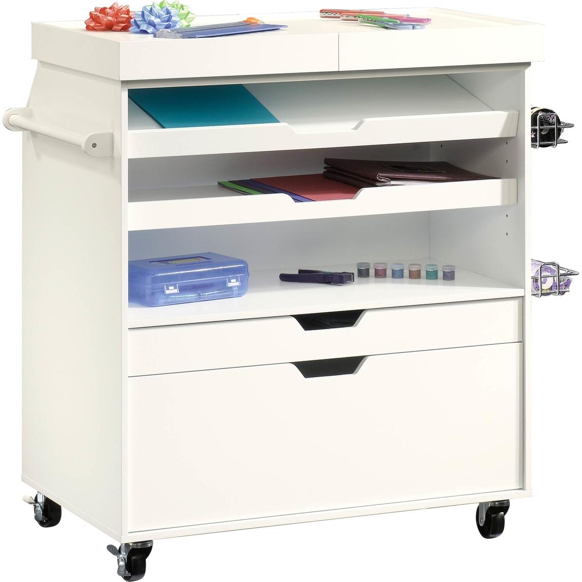Sauder Craft Cart Craft Furniture Storage Home