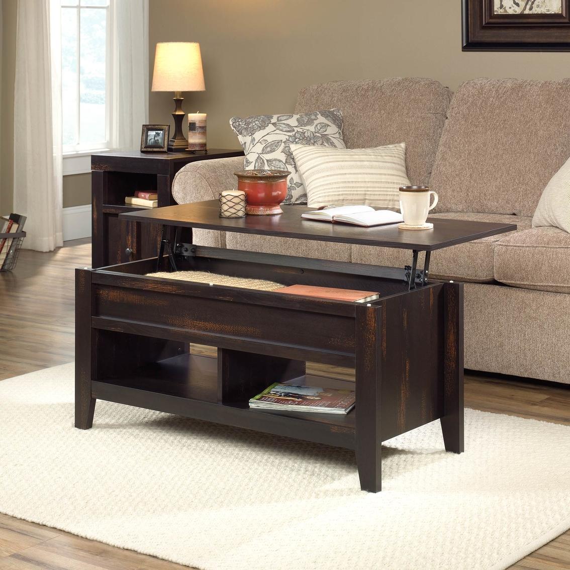 Sauder Dakota Pass Lift Top Coffee Table Living Room Tables Furniture Appliances Shop The Exchange