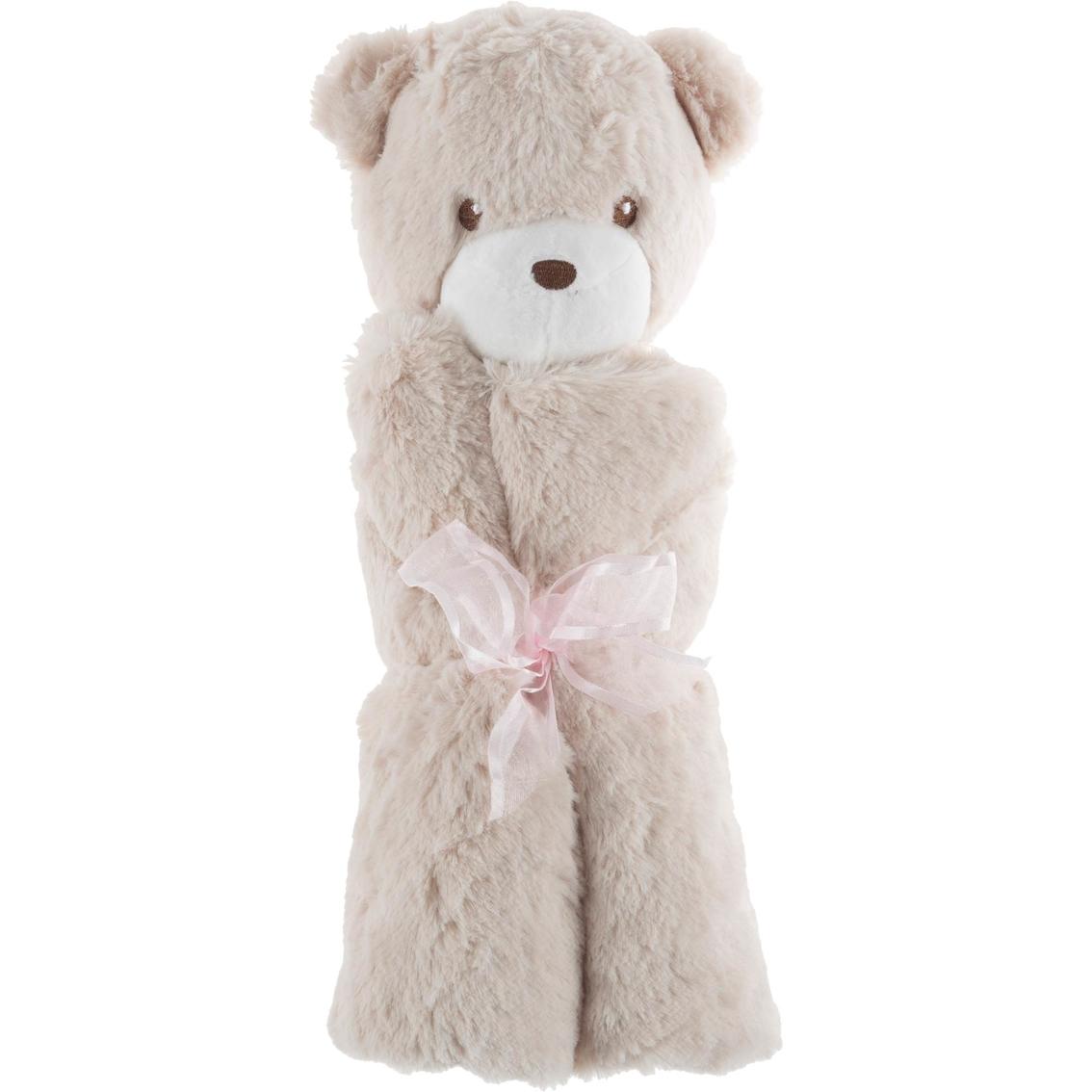 Lavish Home Happy Trails Stuffed Animal Baby Security Blanket