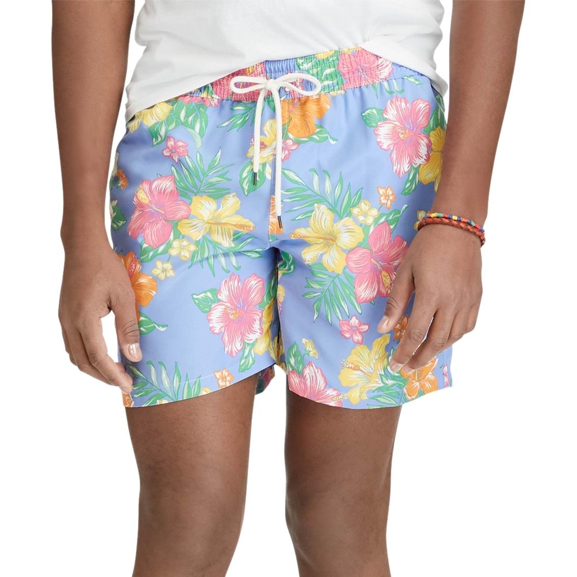 7fb23d6284e48 Polo Ralph Lauren 5.75 In. Traveler Swim Trunks | Swimwear | Apparel ...