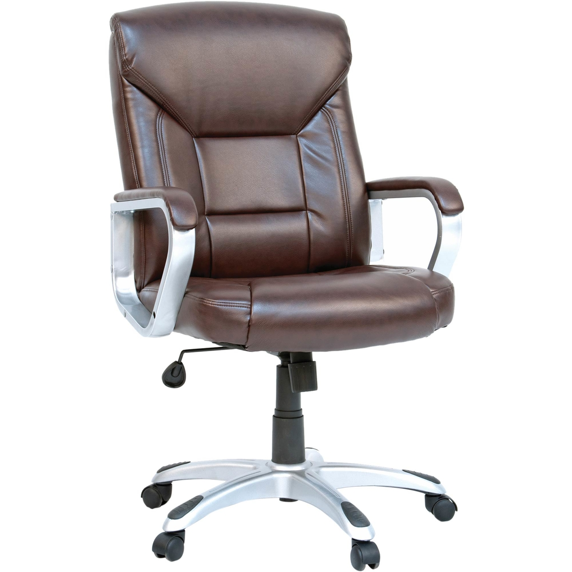 Sauder Deluxe Leather Executive Chair Office Chairs