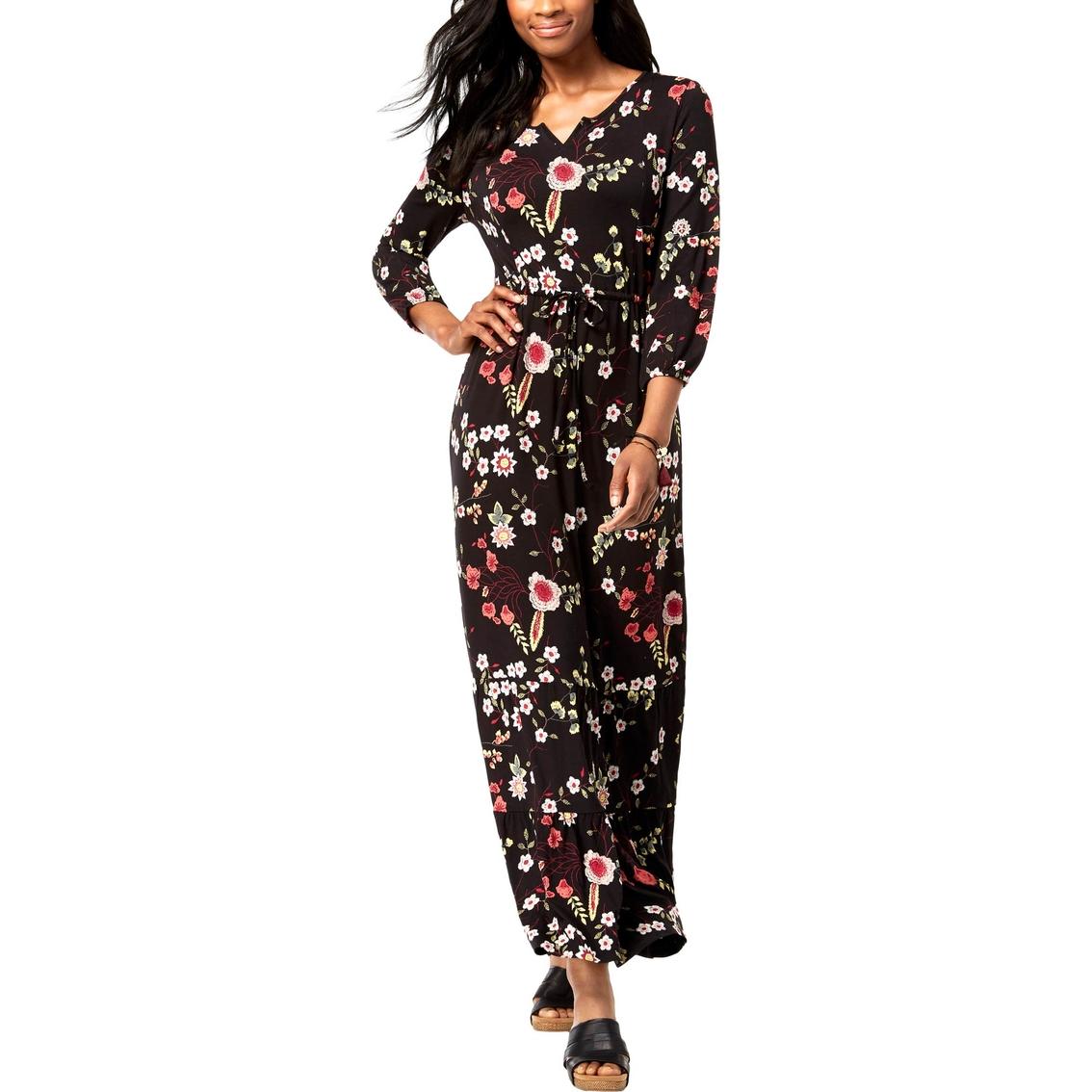 4f304f32ab Style   Co. Petite Printed Maxi Dress