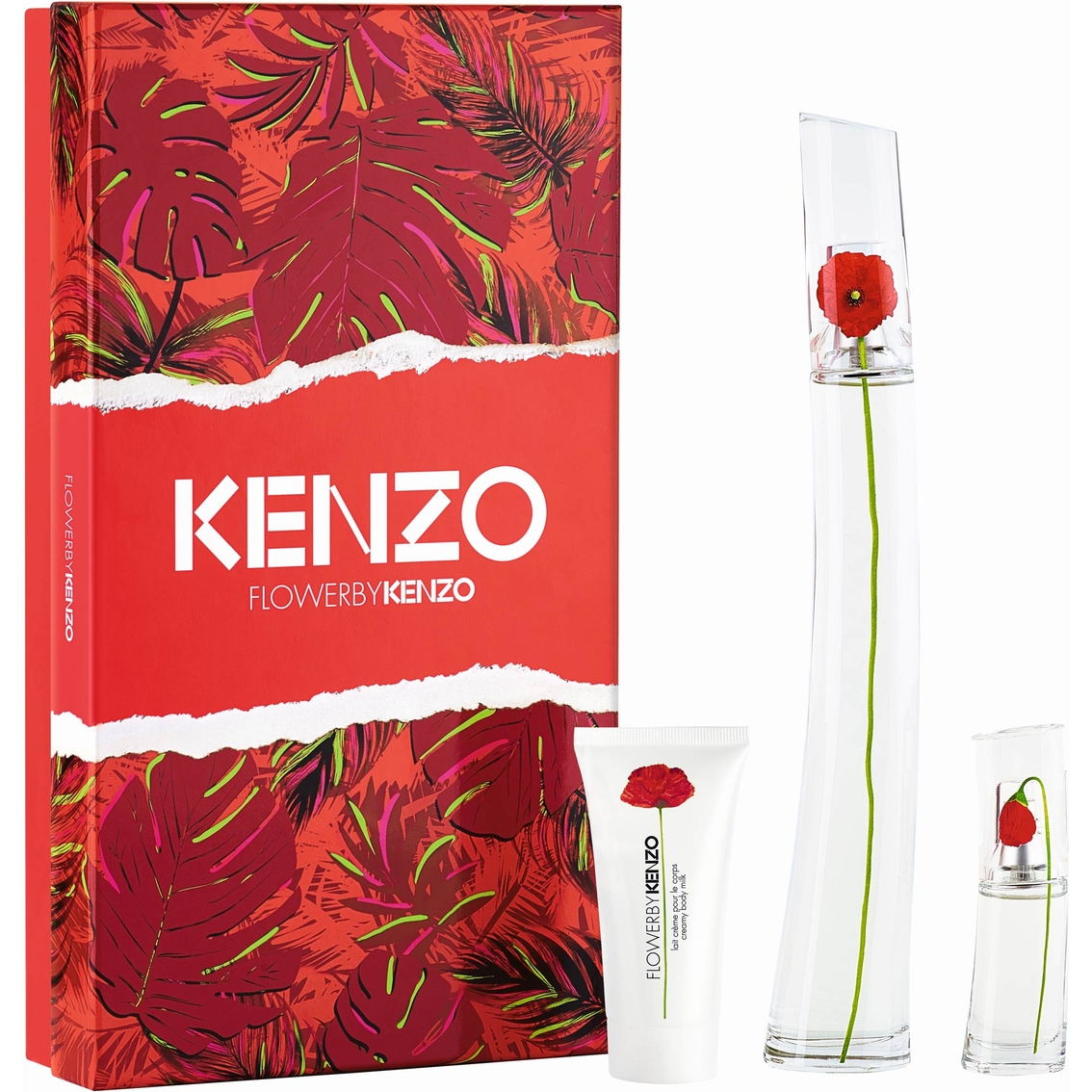 Kenzo flower eau de parfum gift set gifts sets for her beauty kenzo flower eau de parfum gift set izmirmasajfo