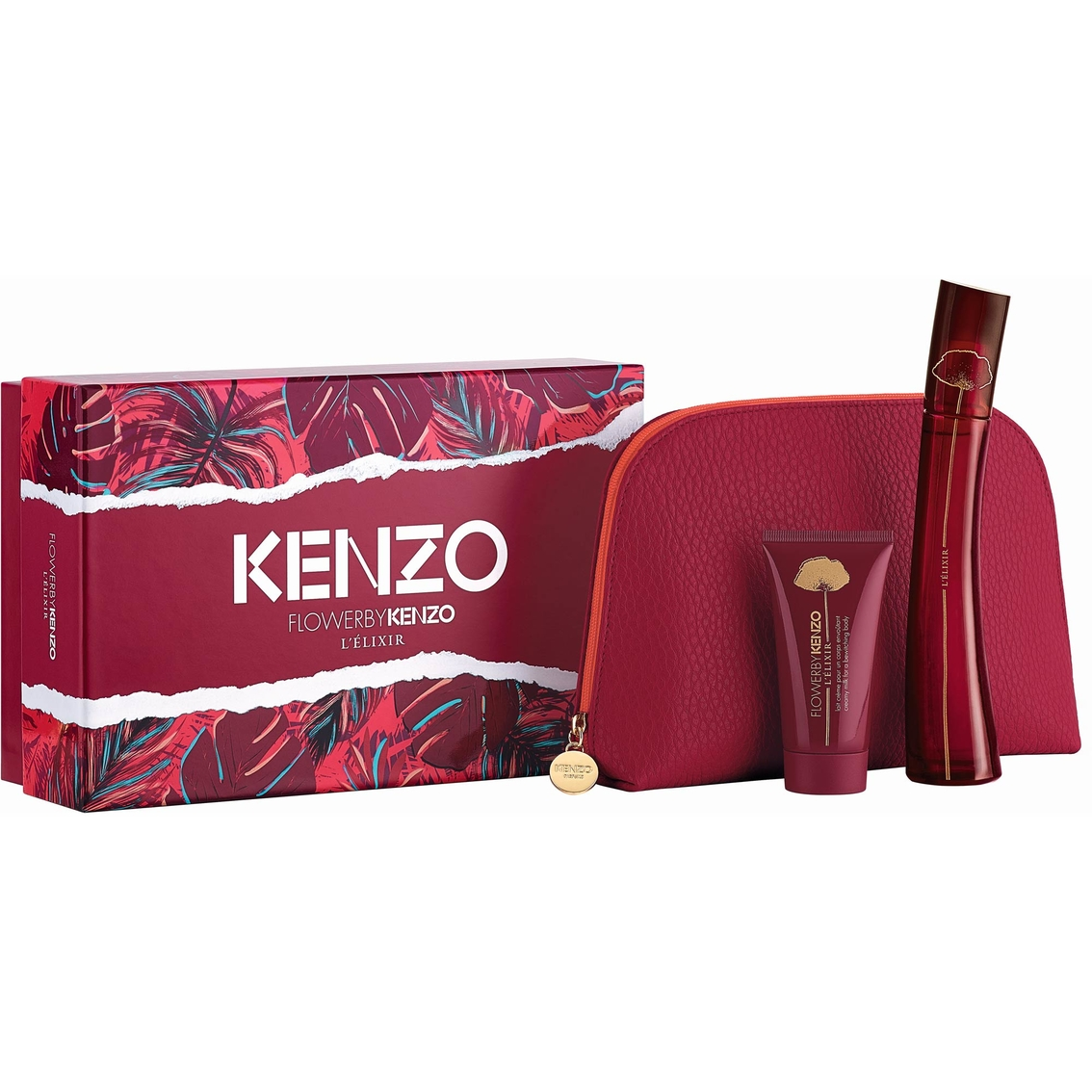 Kenzo Flower L Elixir Gift Set Flowers Healthy