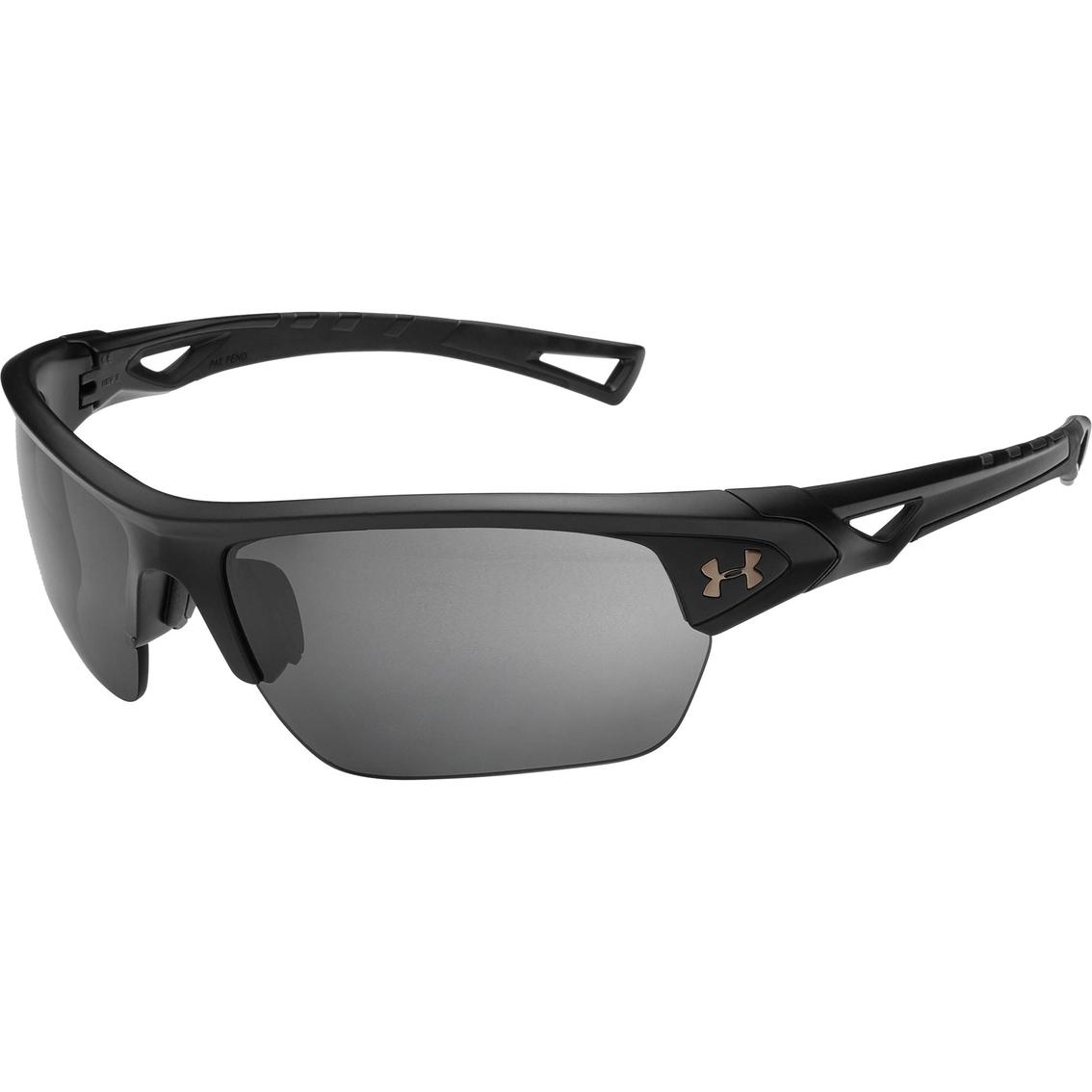 6ca6443b91 Under Armour UA Octane Satin Polarized Mirror Sunglasses 8640094-010118