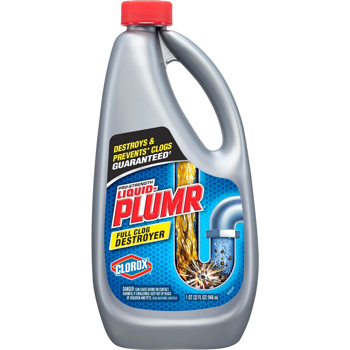 Liquid Plumr Professional Strength Full Clog Destroyer | Bathroom ...