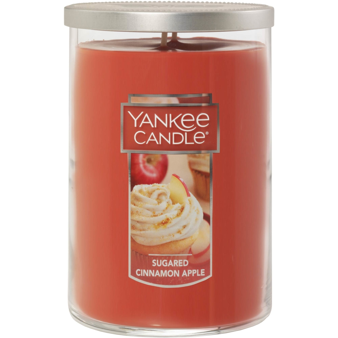 Yankee Candle Large 2-Wick Tumbler Scented Candle Sugared Cinnamon Apple