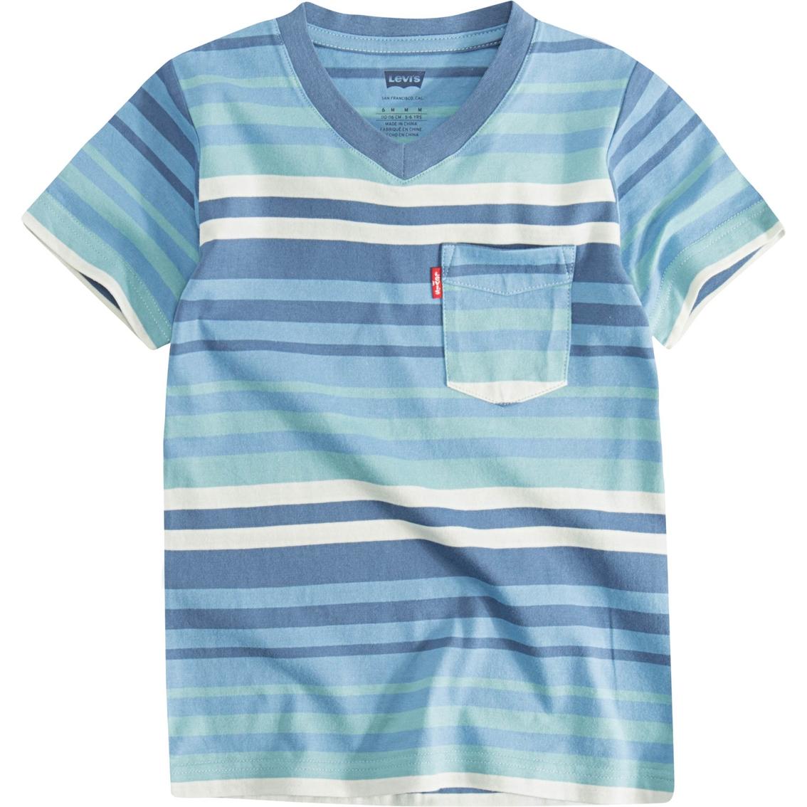 47203d66f Levi's Toddler Boys Striped Sunset Pocket Tee | Toddler Boys 2t-4t ...