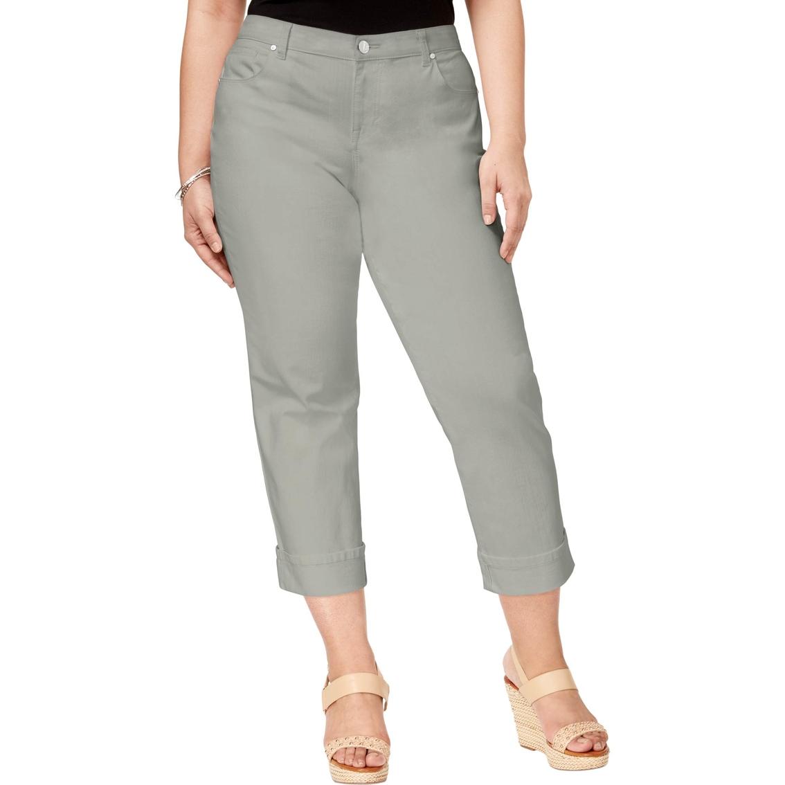 Style & Co. Plus Size Denim Capri Pants | Pants | Apparel ...