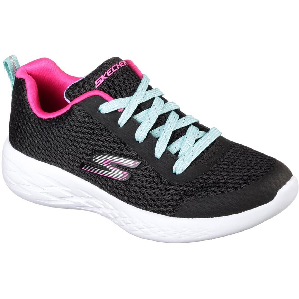Skechers Girls Fun Run Lightweight Lace Sneakers