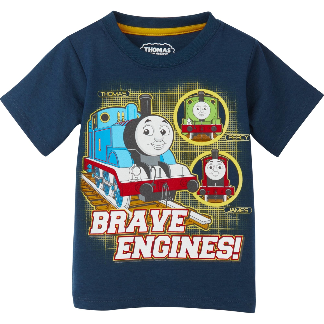 THOMAS TANK ENGINE TRAIN JAMES PERCY Tee T-Shirt NEW Toddlers Size 2T or 4T  $16
