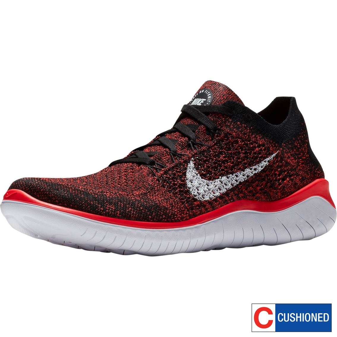 6b07cfb652e4 Nike Men s Free Rn Flyknit 2018 Running Shoes