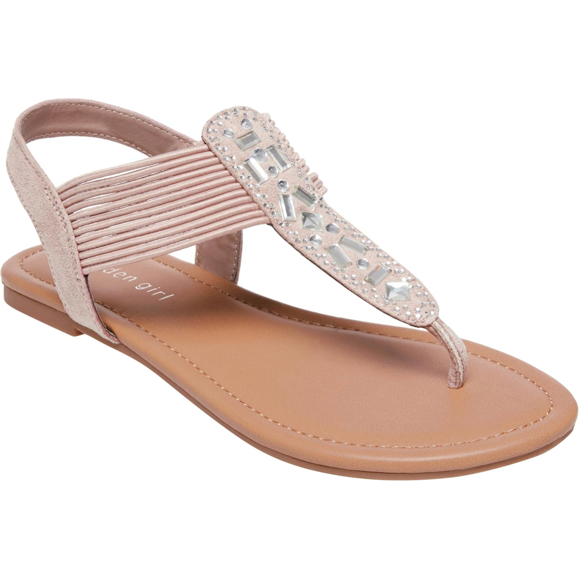 4c643c931 Madden Girl Tanna Jeweled Thong Sandal
