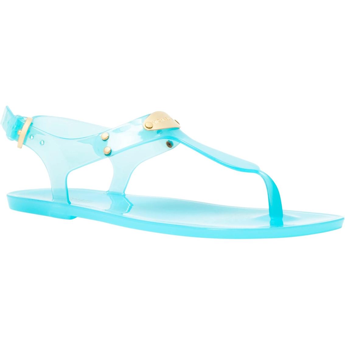0b78620ab459 Michael Kors Plate Jelly Sandals