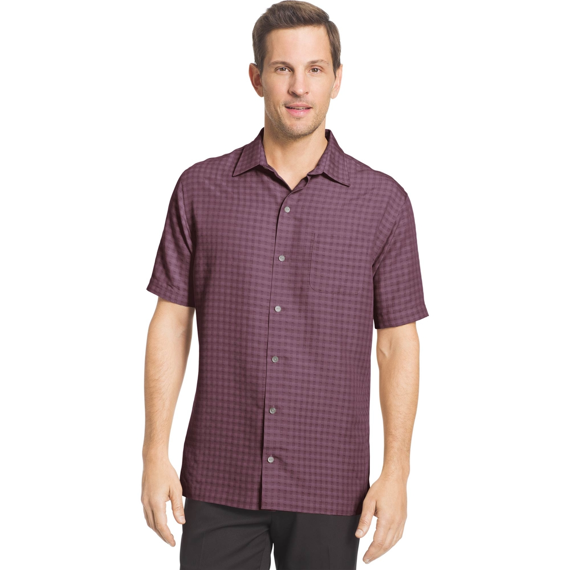 Van Heusen Air Grid Shirt Casual Apparel Shop The Exchange
