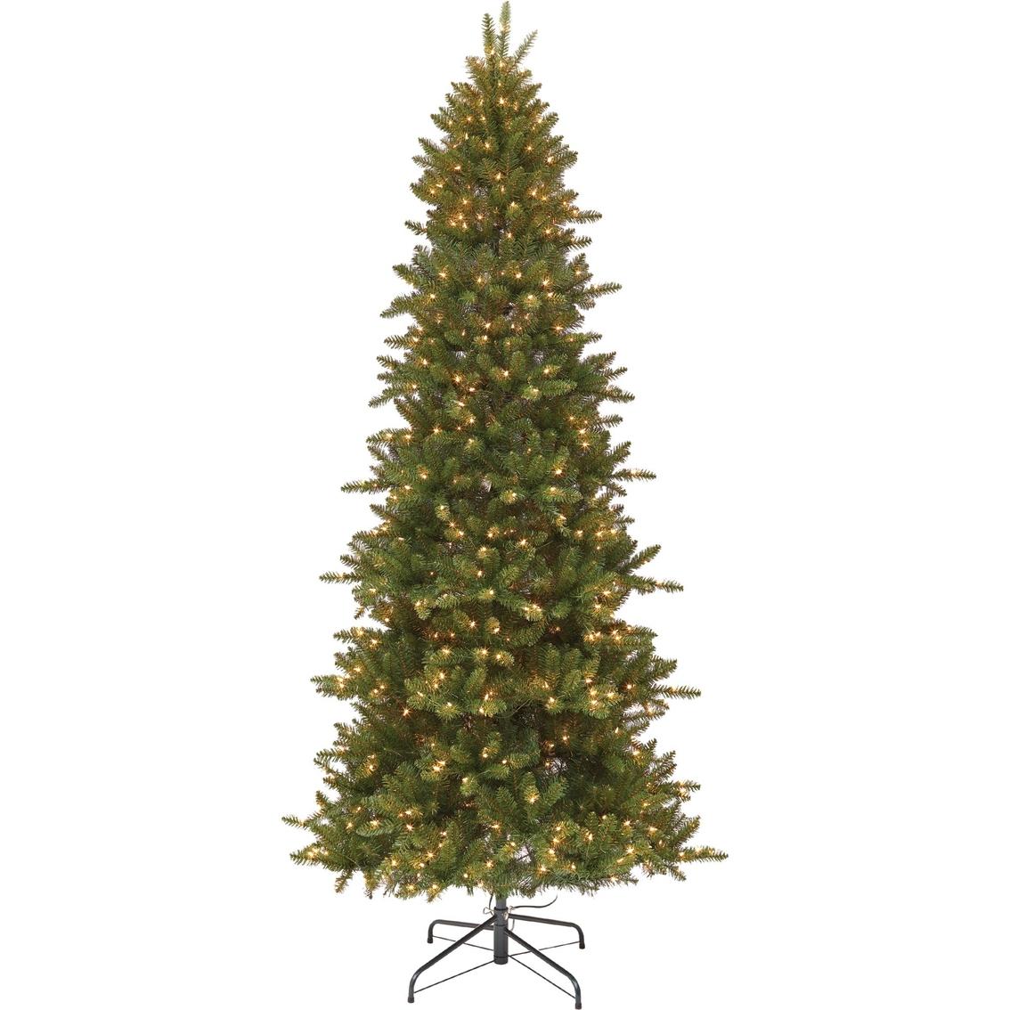 Gigi Seasons Ticonderoga 9 Ft. Pre-lit Tree With Instant Shaping ...