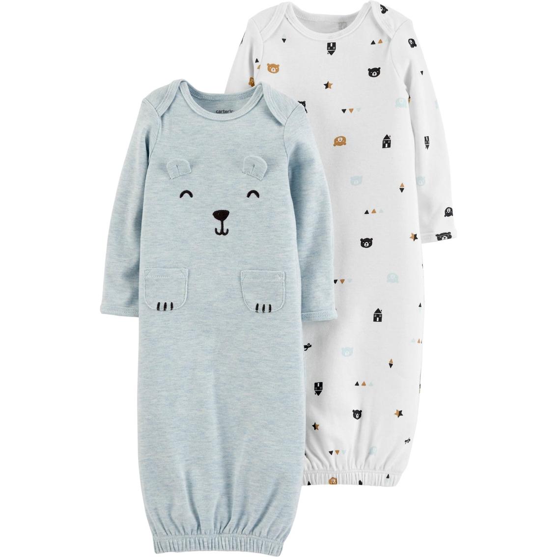 Carter\'s Infant Boys Babysoft Sleeper Gown 2 Pk. | Baby Boy 0-24 ...