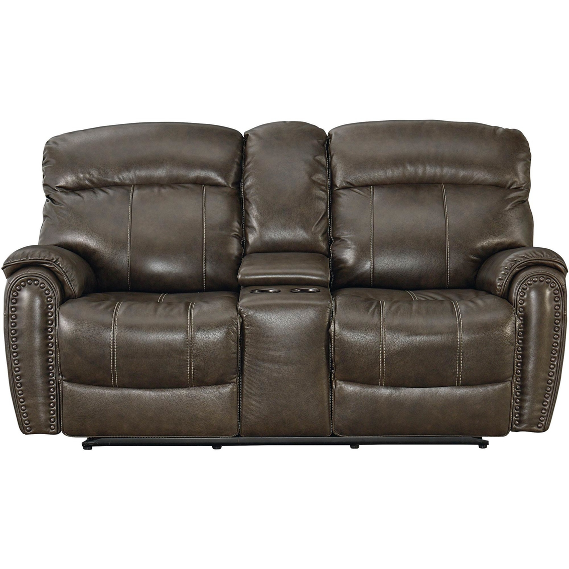 Picture of: Bassett Club Level Bridgeport Power Reclining Loveseat Sofas Couches Furniture Appliances Shop The Exchange