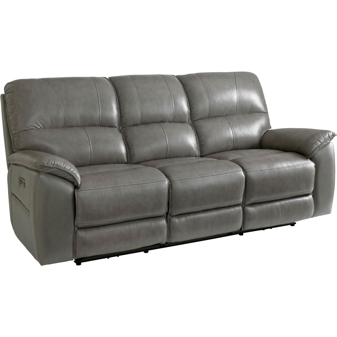 Bassett Club Level Benson Power Reclining Sofa