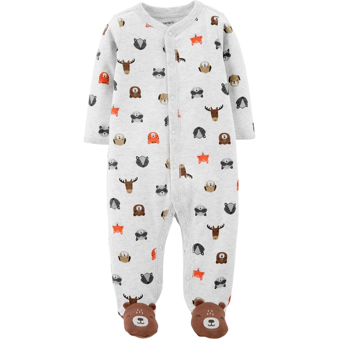 bc8efcaa1cd9 Carter s Infant Boys Animal Print Snap Up Sleep And Play