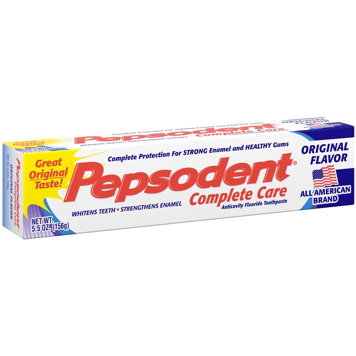 Pepsodent Complete Care Anti-cavity Original Flavor Fluoride