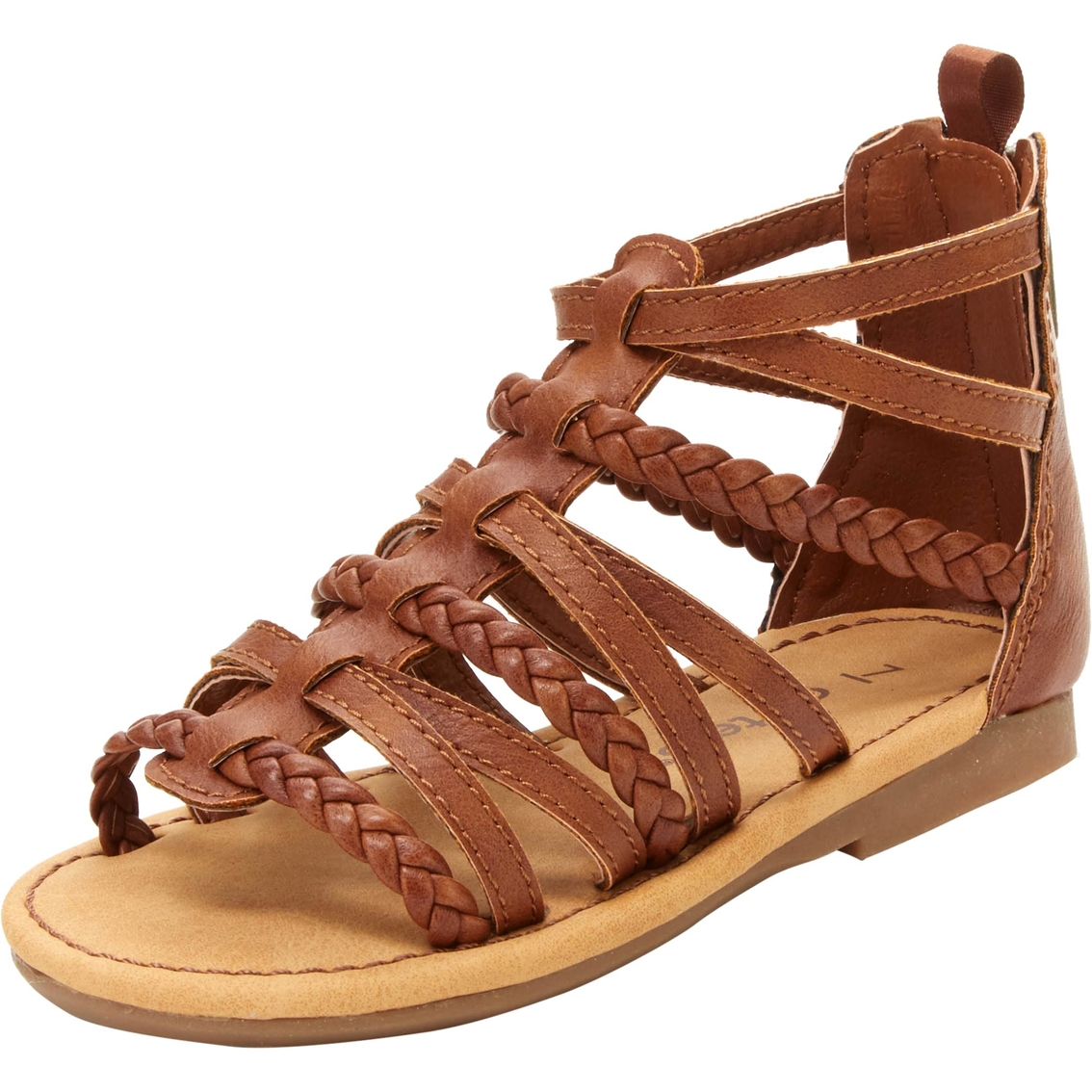 bf3bffe8862 Carter s Toddler Girls Smile2 Gladiator Sandals
