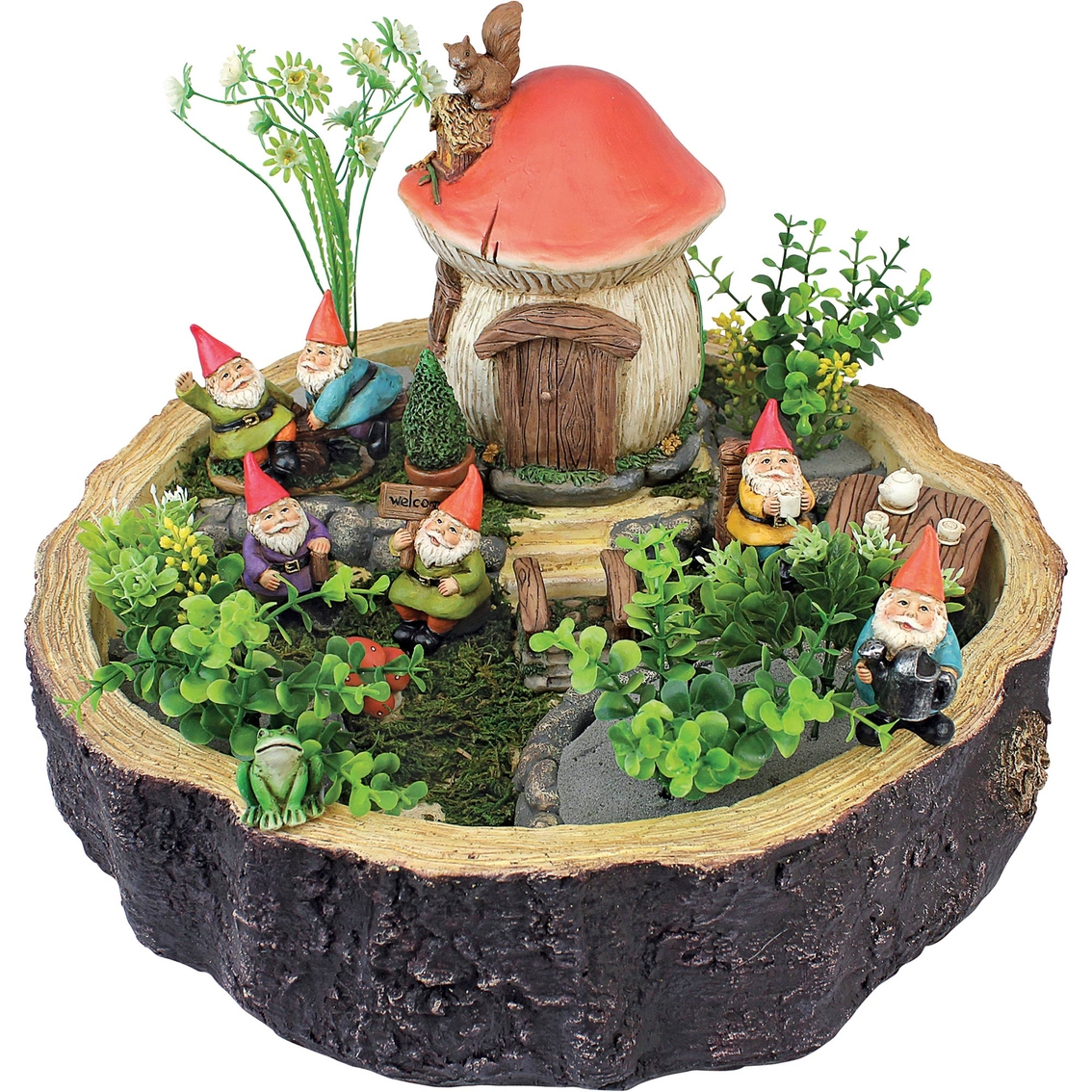 Design Toscano Tiny Forest Friends Gnome Garden Statue Collection