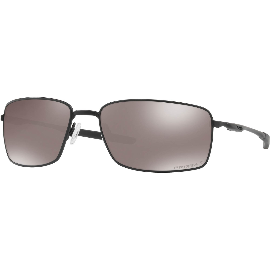 15565648e3 Oakley SI Square Wire Blackside Prizm Black Polarized Sunglasses 4075