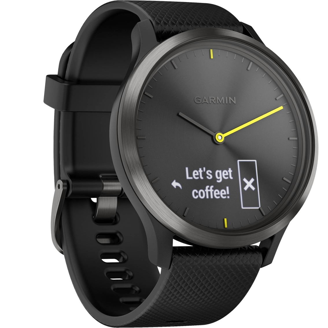 fad1f1fba48fbc Garmin Vivomove Hr Sport Hybrid Smartwatch