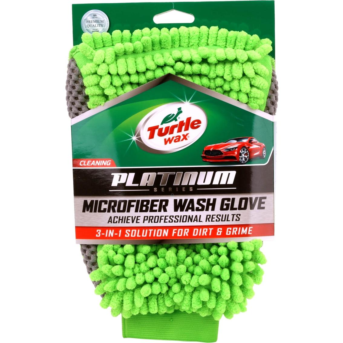 Turtle Wax Platinum 1 Pk Car Wash Mitt 6 5 In X 10 5 In Care