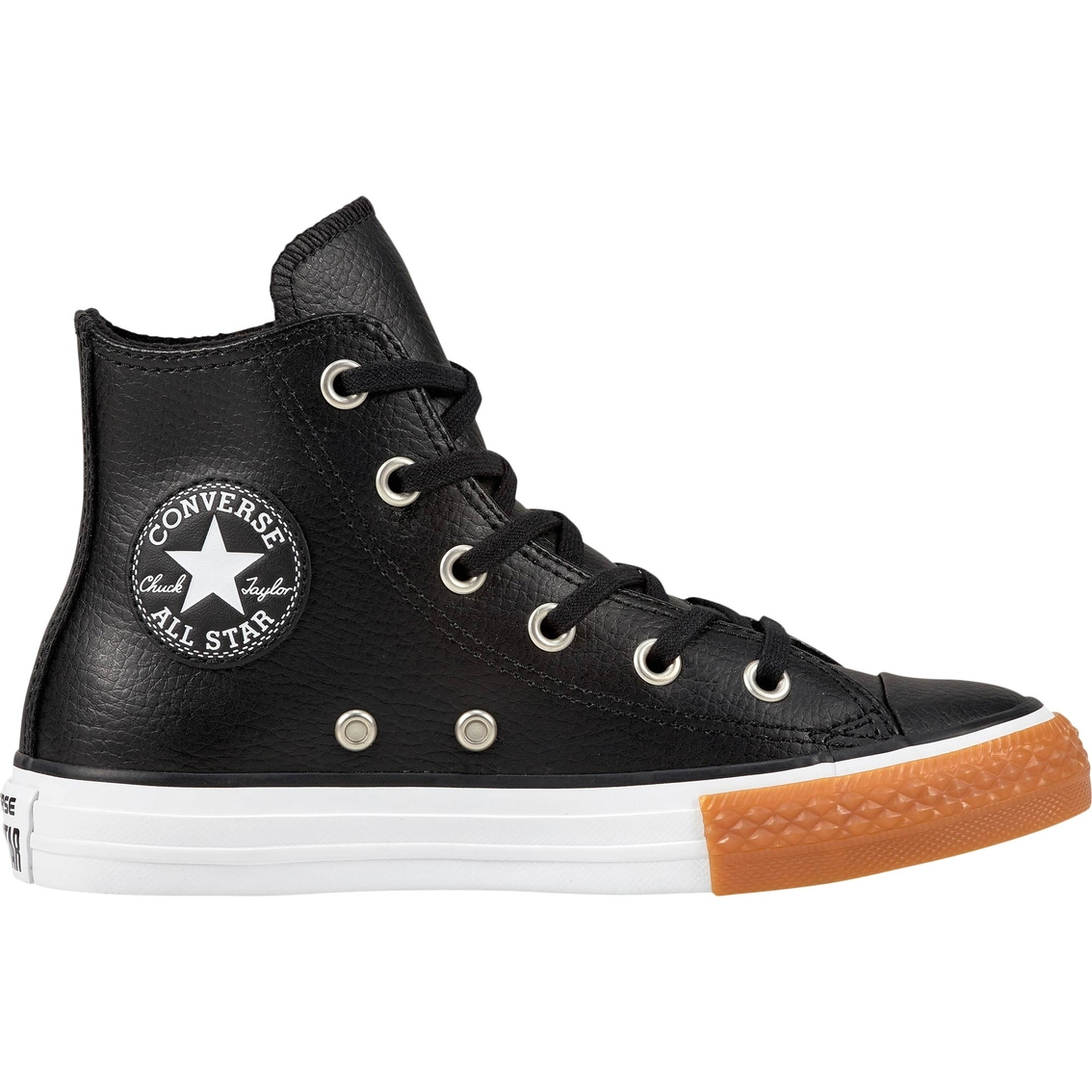 f81ab0ebe35f Converse Grade School Boys Chuck Taylor All Star High Top Sneakers ...